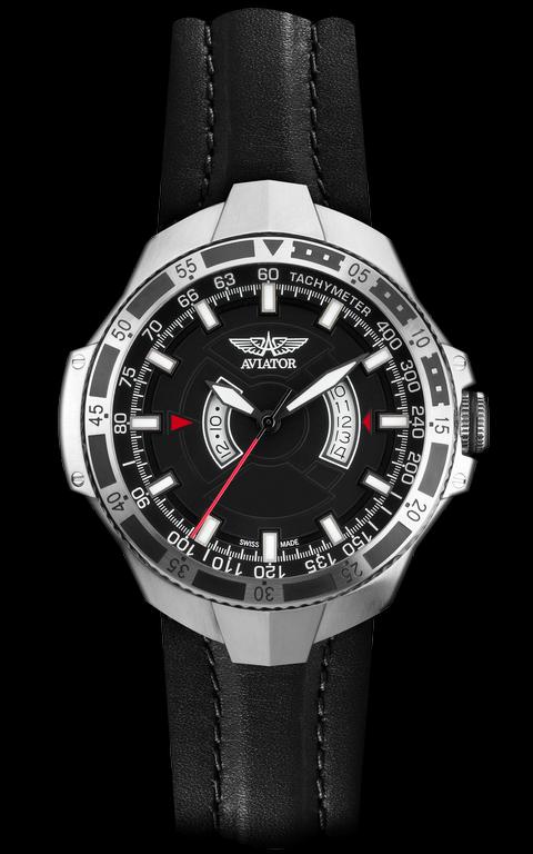a95567d007c pánske hodinky AVIATOR MIG-29 GMT M.1.01.0.001.4 - Kolekcia - Aviator