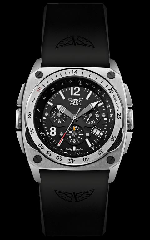 2130ed28f pánske hodinky AVIATOR MIG-29 chrono M.2.04.0.009.6 - Kolekcia - Aviator