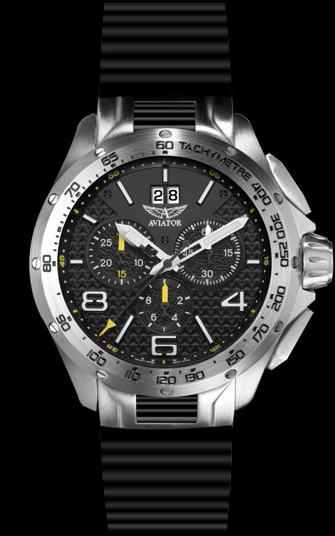 pánske hodinky AVIATOR SWISS MIG-35 M.2.19.0.131.6 - Kolekcia - Aviator bd6d266617a